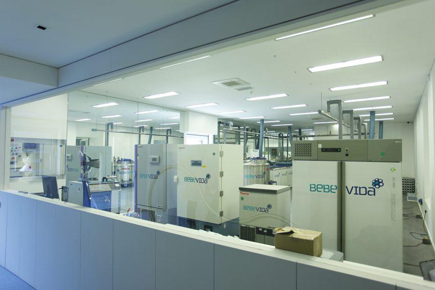 Armazenamento de amostras - Laboratório BebéVida